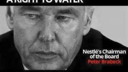 destroying and privatizing fresh water supplies