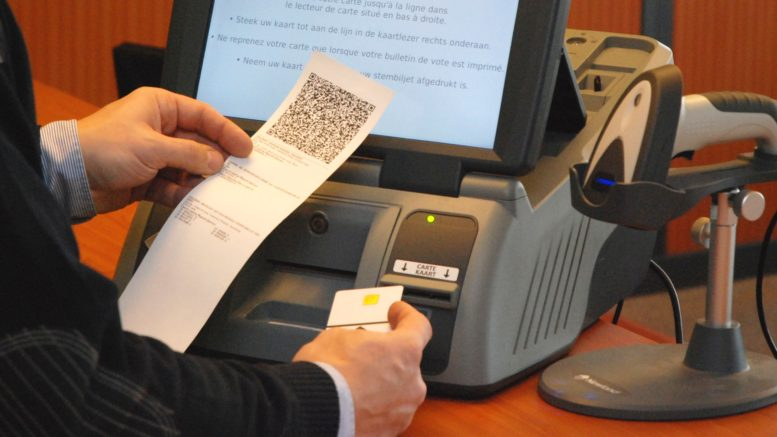 Smartmatic voting machines