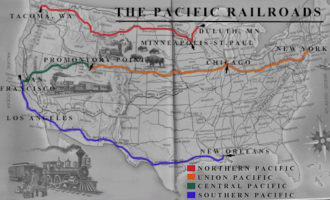 Theft of America and the US railway act