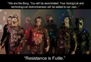 welcome to the Borg